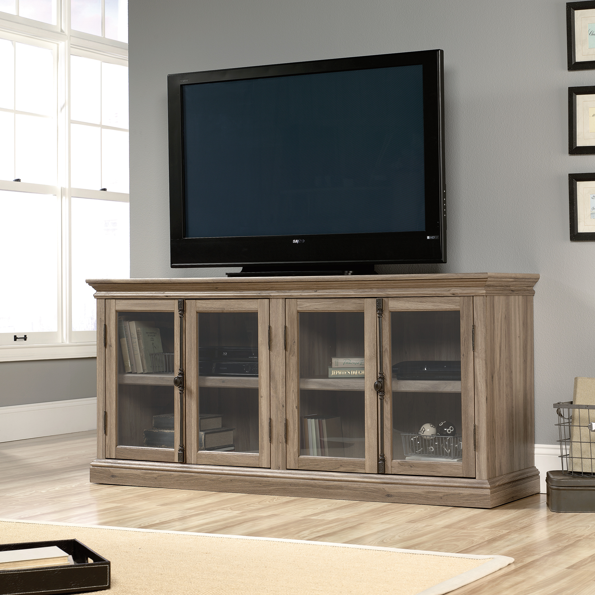 Sauder Barrister Lane TV Stand 414721 Sauder