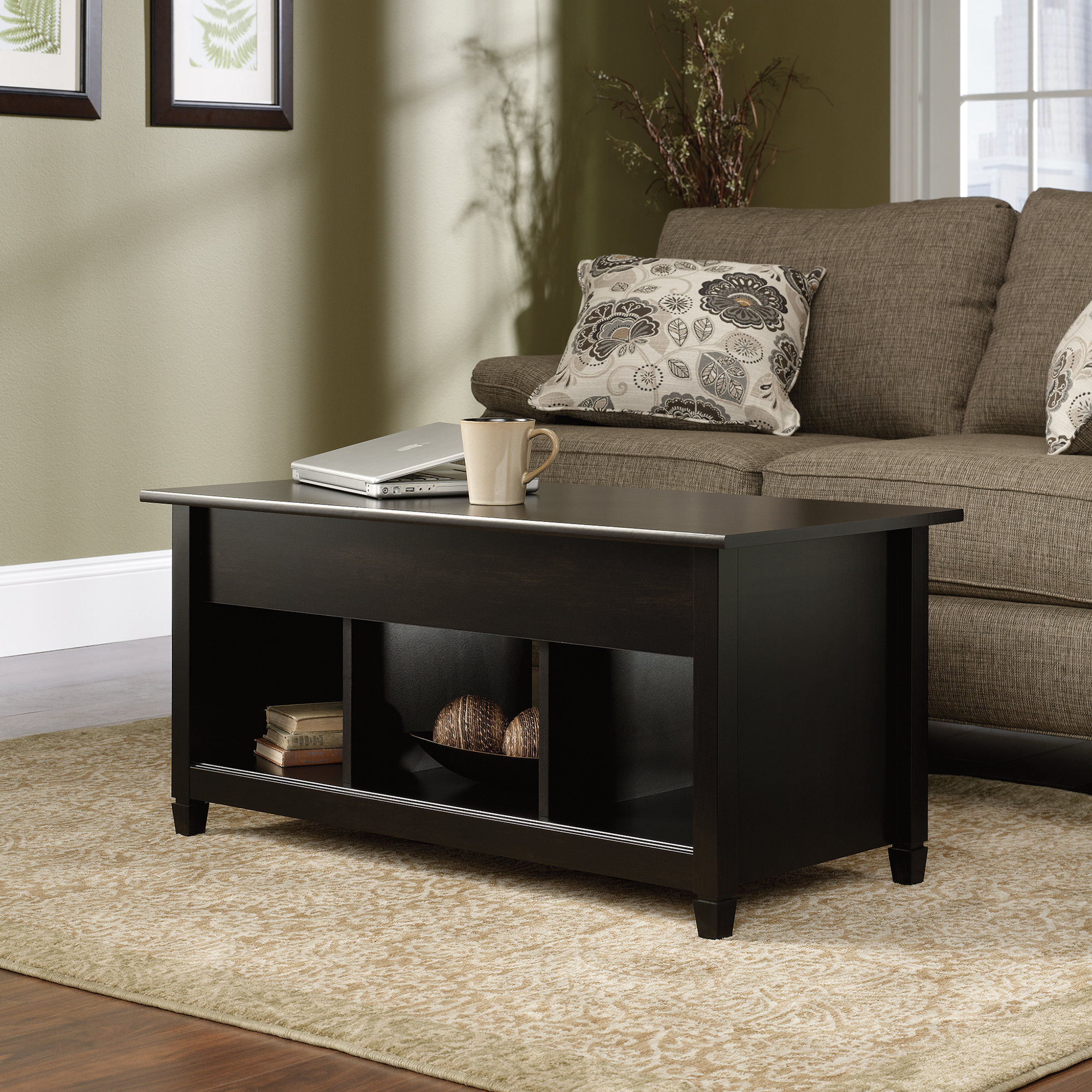 Exceptionnel Sauder Edge Water Lift Top Coffee Table ...