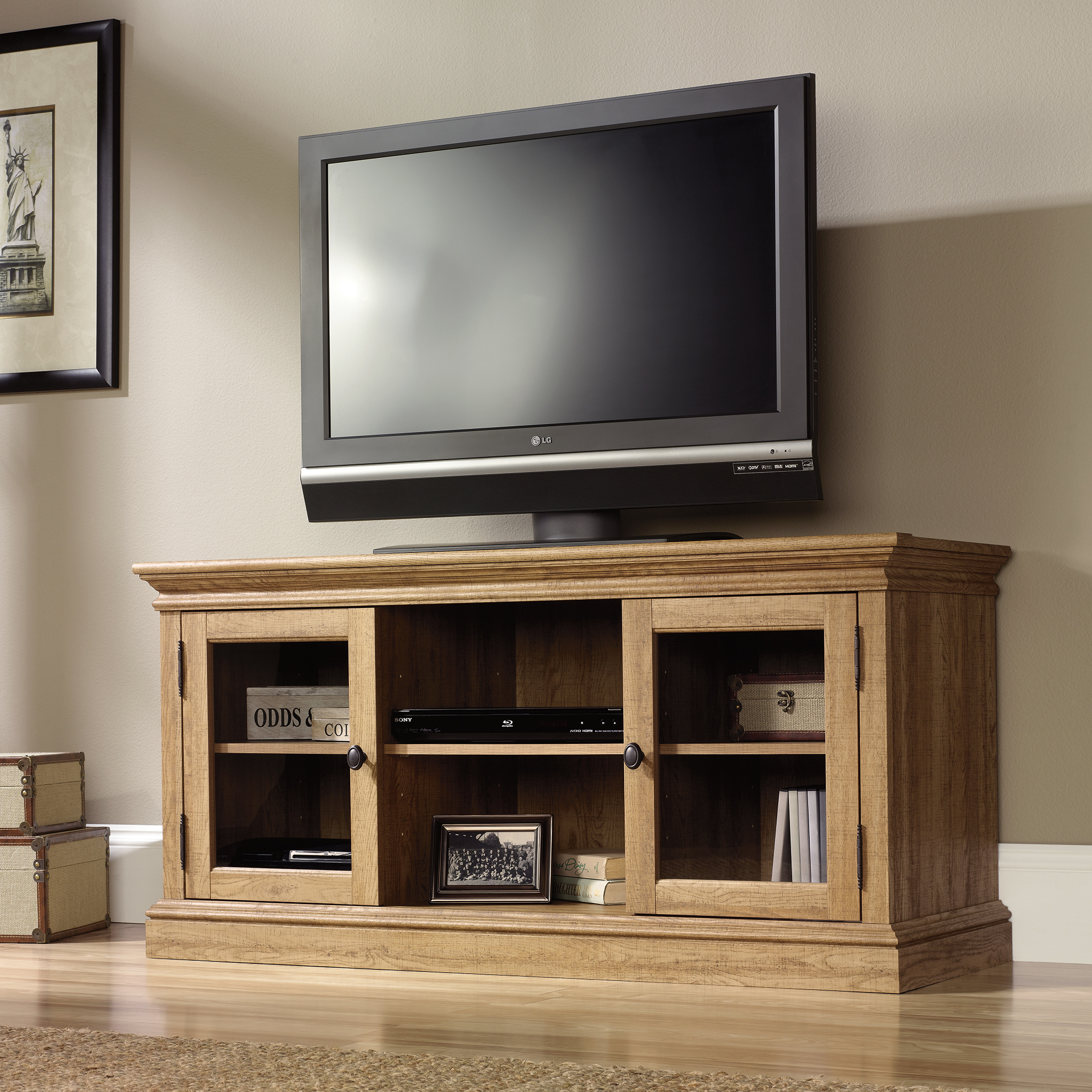 Sauder Barrister Lane Tv Stand 414958 Sauder The Furniture Co