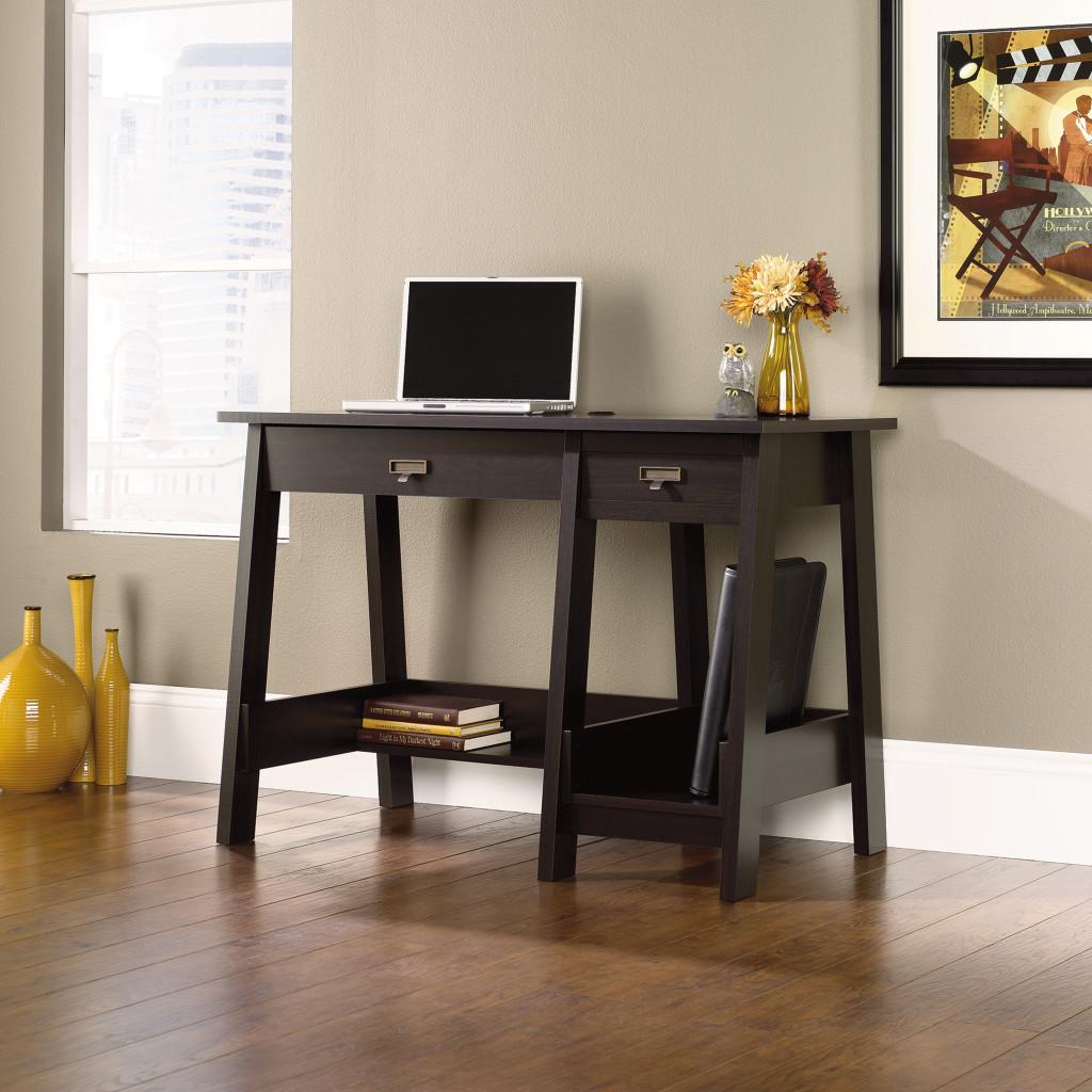 Sauder Trestle Desk 415956 The Furniture Co