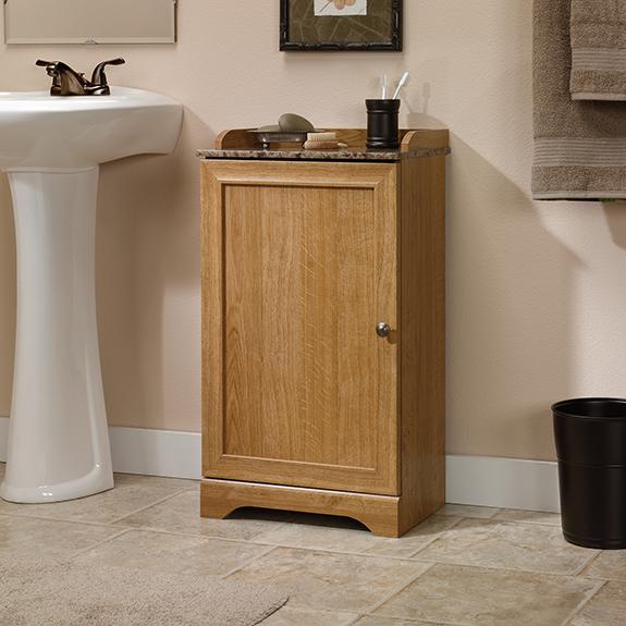 Sauder Sundial Floor Cabinet 414033 The Furniture Co