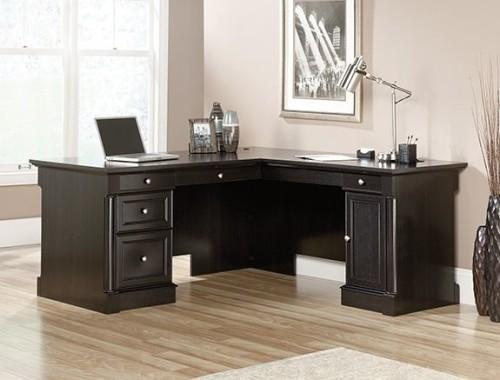Sauder Avenue Eight L Shaped Desk 417714 The Furniture Co