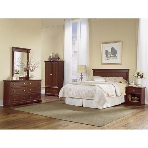 Sauder Palladia Bedroom 4 Piece Set (PA-BED-SET-SC