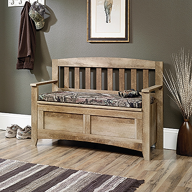 Awesome Sauder East Canyon Storage Bench 416699 Short Links Chair Design For Home Short Linksinfo