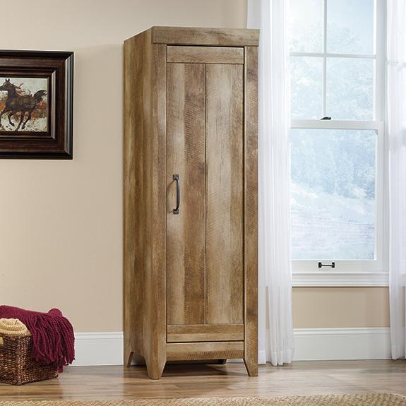 Sauder Adept Storage Narrow Storage Cabinet (418137) – The Furniture Co. - Sauder Adept Storage Narrow Storage Cabinet (418137) €� The