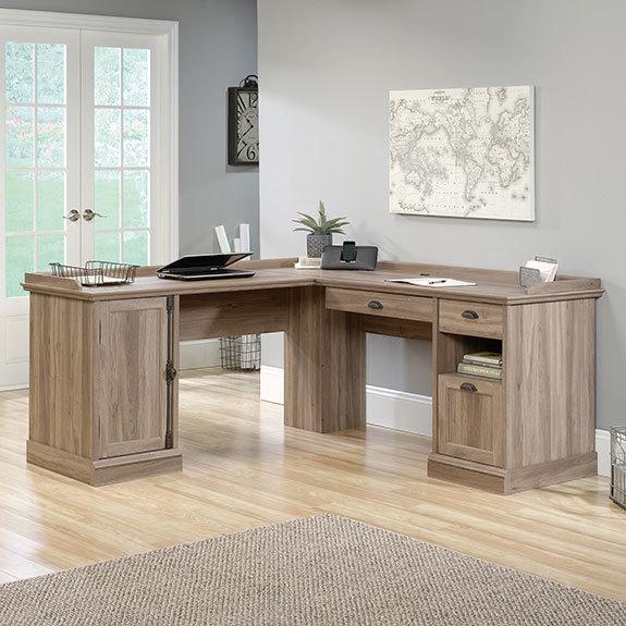 Etonnant Youu0027re Viewing: Sauder Barrister Lane L Shaped Desk (418270) $399.00