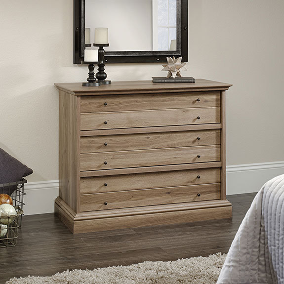 Youu0027re Viewing: Sauder Barrister Lane 3 Drawer Chest (418702) $189.00