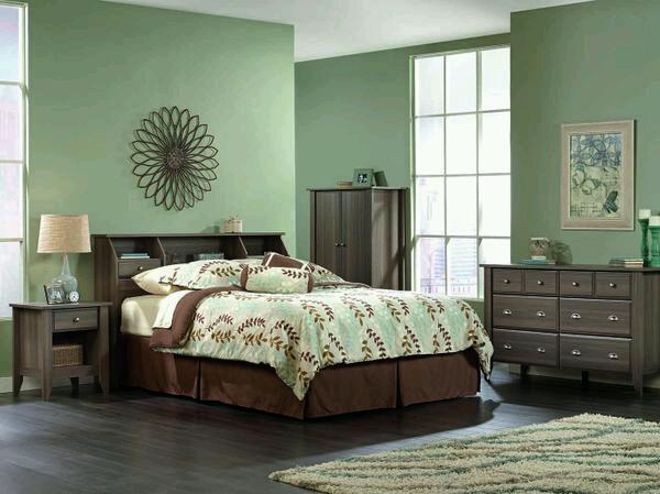 Sauder Shoal Creek 3 Piece Bedroom