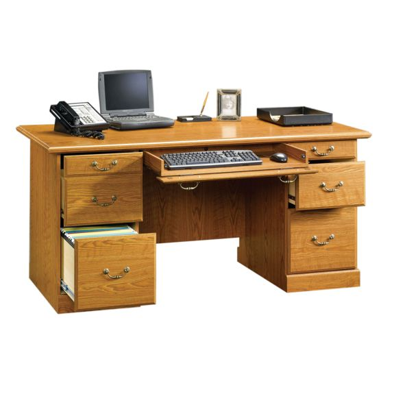 Sauder Orchard Hills Executive Desk 401822 Sauder