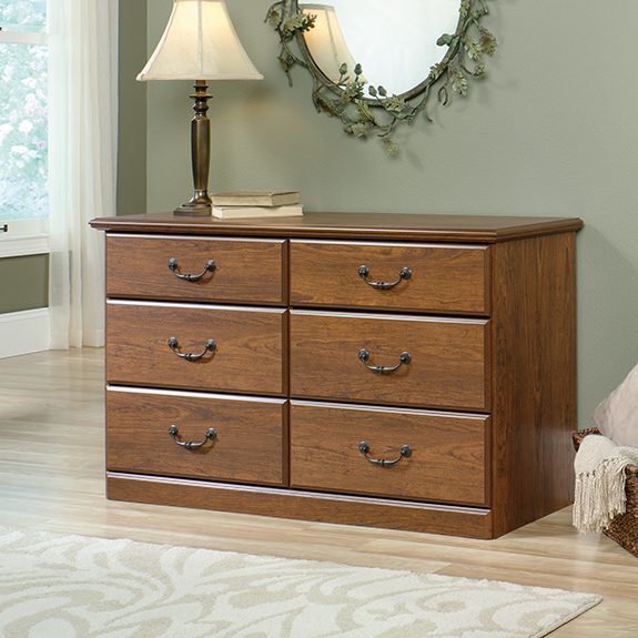 sauder bedroom furniture sauder 418645 orchard dresser the furniture co 13118