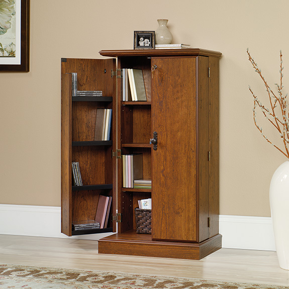Youu0027re viewing Sauder Orchard Hills Multimedia Storage Cabinet (418651) $139.00 & Sauder Orchard Hills Multimedia Storage Cabinet (418651) u2013 Sauder ...