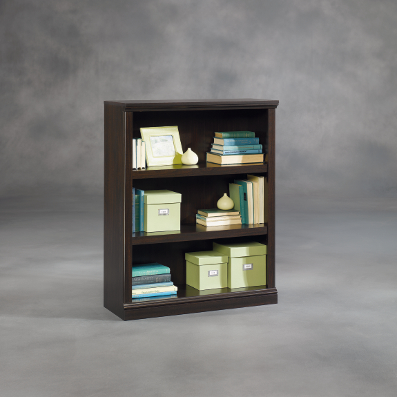 Swell Sauder Select 3 Shelf Bookcase 410373 Download Free Architecture Designs Rallybritishbridgeorg