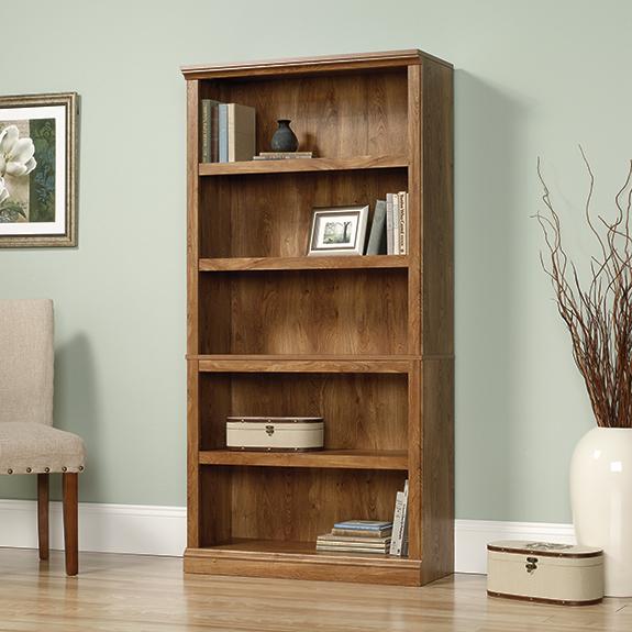 Sauder 416354 5 Shelf Bookcase Sauder The Furniture Co