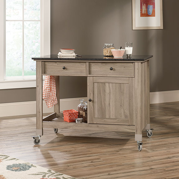 Sauder 417089 Mobile Kitchen Island