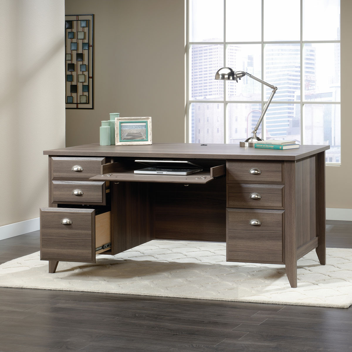 Sauder Shoal Creek Executive Desk 418656