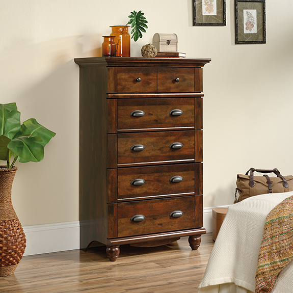 Youu0027re Viewing: Sauder Harbor View 5 Drawer Chest (420465) $289.00