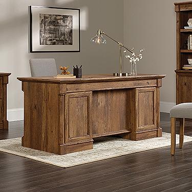 Sauder Palladia Executive Desk 420604 Sauder The