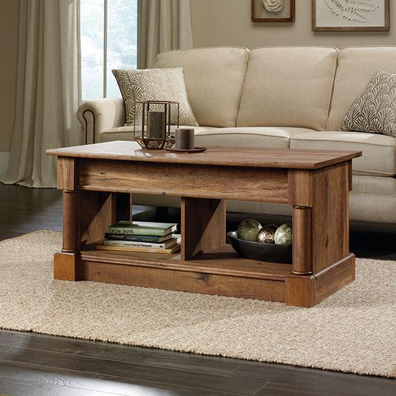 Lift Top Coffee Table Antique: Sauder Palladia Lift-Top Coffee Table (420716)