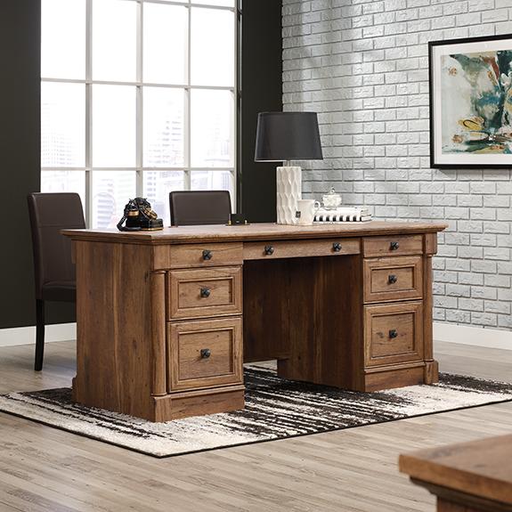 Sauder Vine Crest Executive Desk (421974)