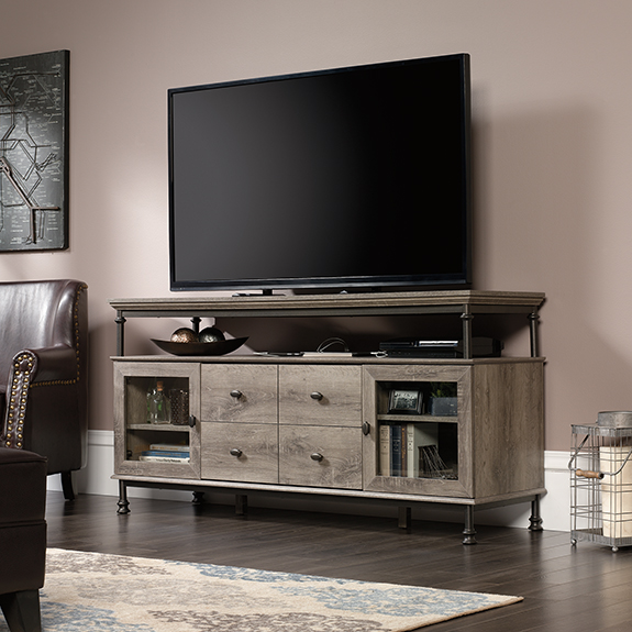 Youu0027re Viewing: Sauder Canal Street TV Stand (420494) $284.00