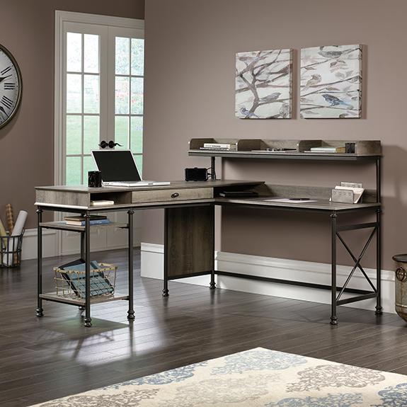 Sauder Canal Street L Desk 420509 Sauder The