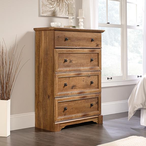 Sauder Palladia 4 Drawer Chest 420612 The Furniture Co