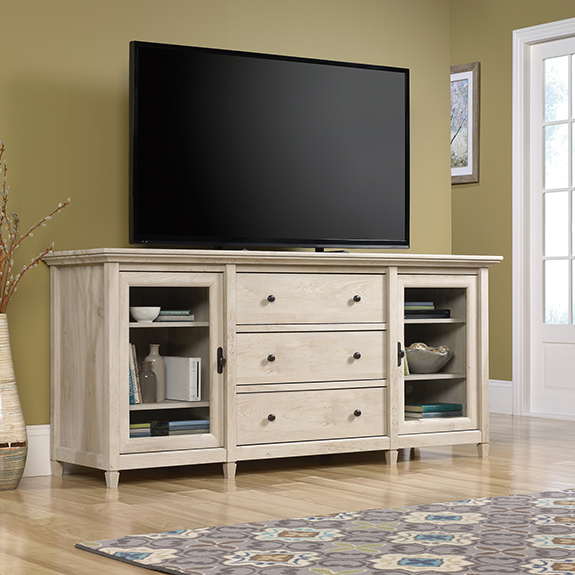 Sauder Edge Water TV Stand / Credenza (422094) Sauder Harbor View Lateral  File (422114). Sauder Jacksonville