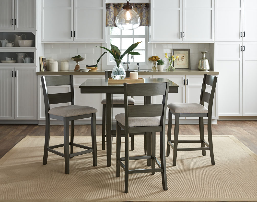 Standard Loft Counter Height Table 4 Stools 13102