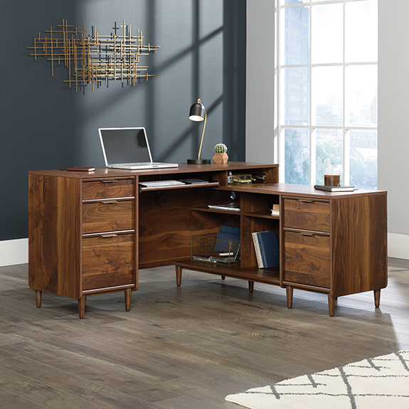 Youu0027re Viewing: Sauder Clifford Place L Shaped Desk (421120) $569.00