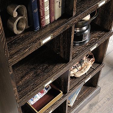 Sauder Barrister Lane Tall Bookcase 422716 The Furniture Co