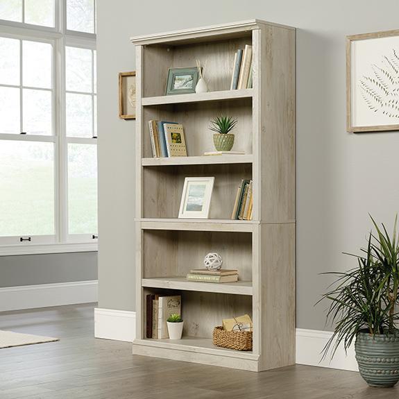Sauder Select 5 Shelf Bookcase 423033 Sauder The Furniture Co