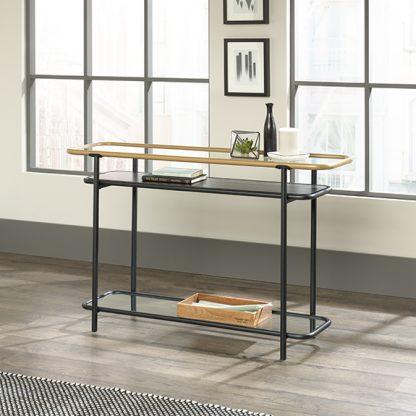 Sauder Boulevard Cafe Sofa Console Table 420674