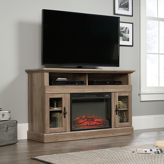 Barrister Lane Fireplace Tv Stand 422999 Sauder Outlet Store