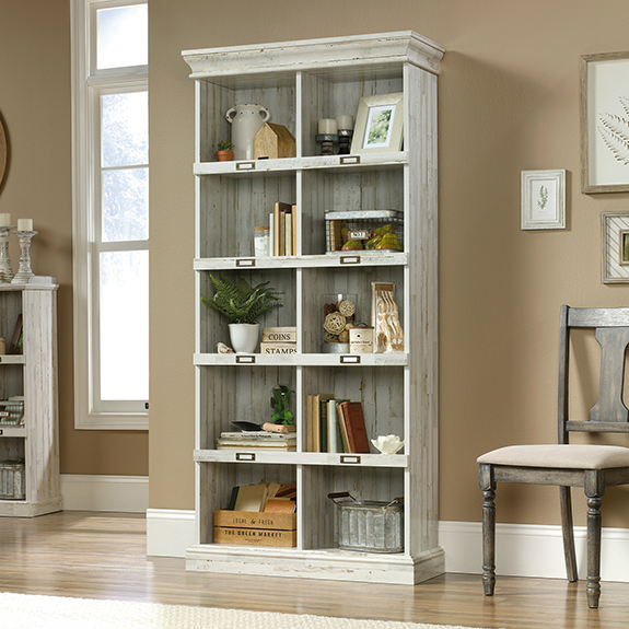 Barrister Lane Tall Bookcase 423671 Sauder Furniture Outlet Store